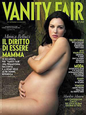 monica pregnant