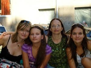 Katya, Auntie Lusia, and Rita