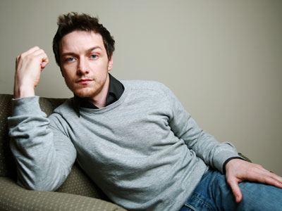 Am not at liberty to use my boyfriend's picture, but here is one of James McAvoy! McAvoy is an important illustration of my predilection for cute fellers who happen to be shorter than I am. picture from EW.com