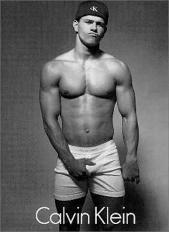 Vintage bulge! Courtesy of Mark Wahlberg!