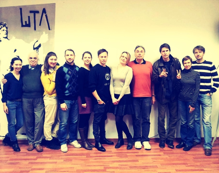 cast of wings and me and arthur and danya filtered