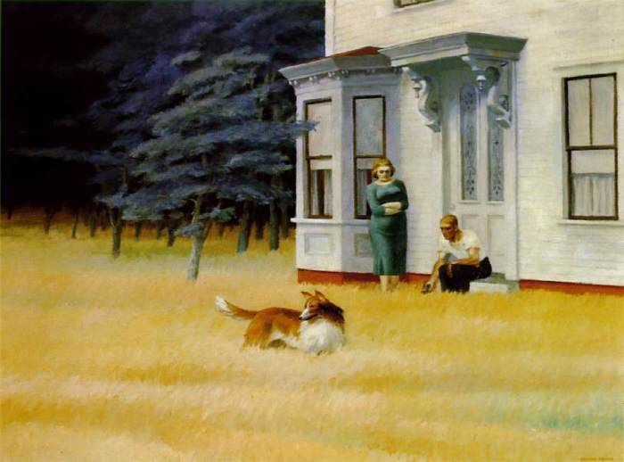 Edward Hopper, Cape Cod Evening, 1939