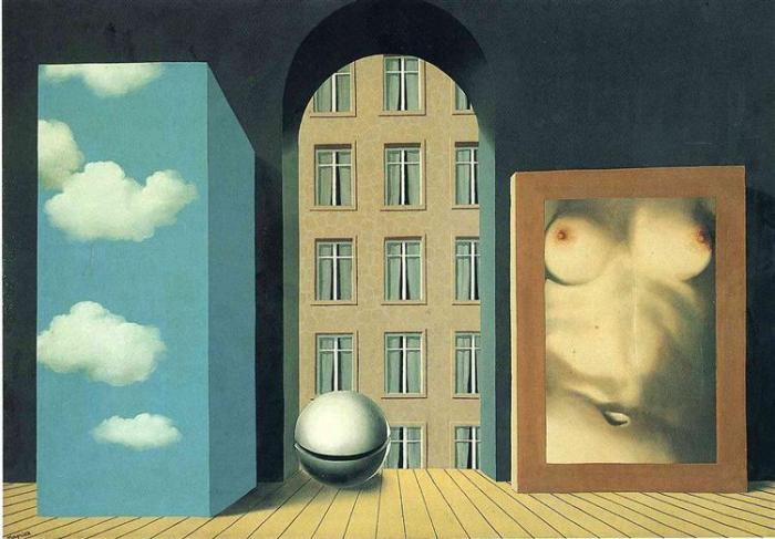 act of violence rene magritte